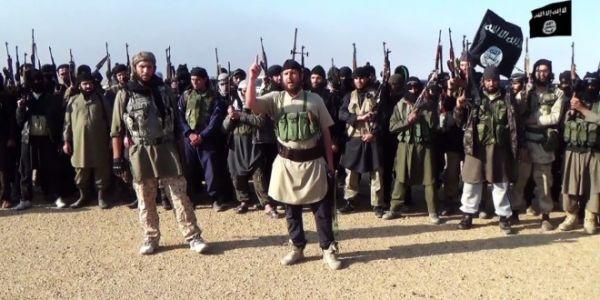 •ISIS terrorists.