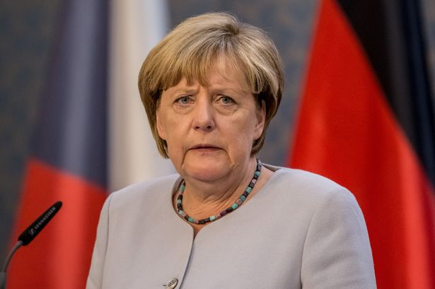 • German Chancellor Angela Merkel