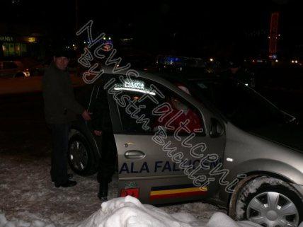 Mos Craciun arestat de Politia Locala