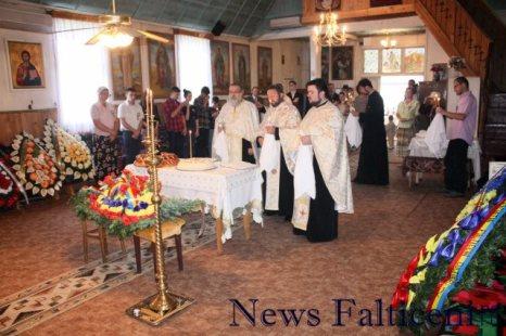 Falticeni-ziua culturii falticenene - slujba religioasa