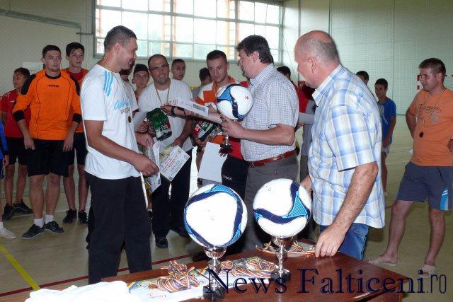 Falticeni-cupa cartierelor premiere locul III Pompierii