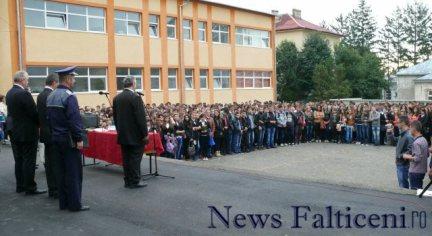 Falticeni-Inceput an scolar 7