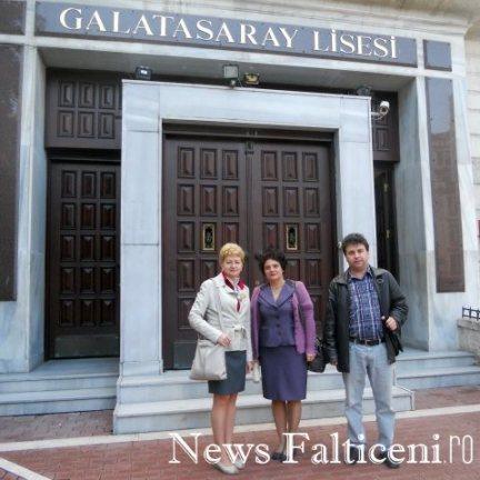 Falticeni-Liceul care a gazduit Conferinta