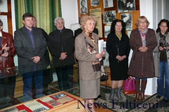Falticeni-inaugurare spatiu Eugen Dimitriu