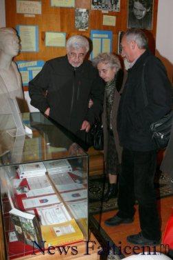 Falticeni-vizitatori la spatiul dedicat lui Eugen Dimitriu