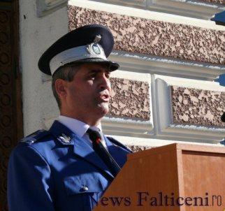 Falticeni-colonel Marian Comandantul scolii
