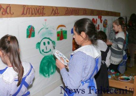 Falticeni-atelier creatie pictura 2