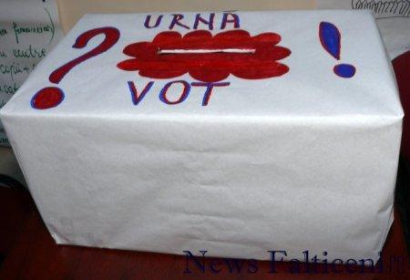 Falticeni-Electorale urna