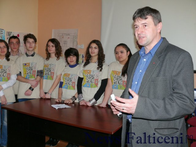 Falticeni-Primarul coman despre importanta de a merge la vot