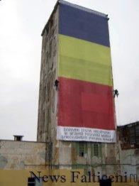 Falticeni-Montare drapel