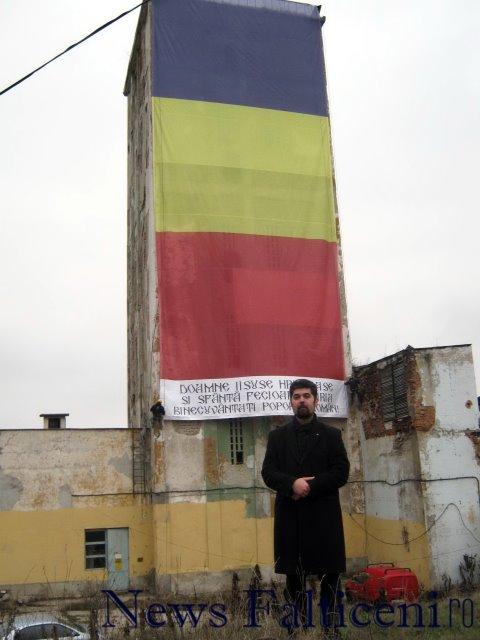 Falticeni-preotul Liviu Mihaila