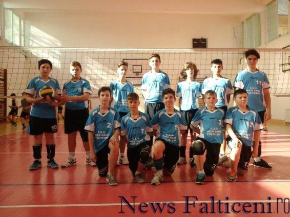 Falticeni-Echipa CSS Nicu Gane la Dej 1