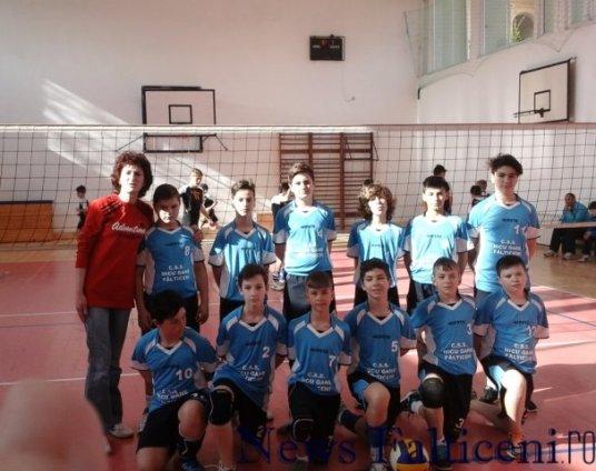Falticeni-Echipa CSS Nicu Gane la Dej si antrenoarea Diana Floristean