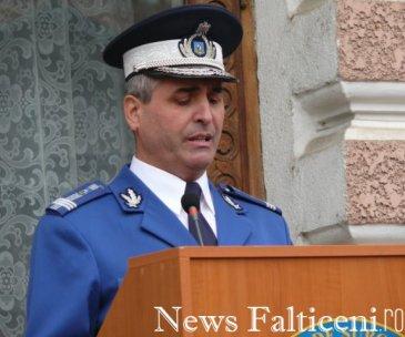 Falticeni-Col Liviu Mariana Comandantul Scolii