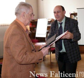Falticeni-inspector Petru Craciun si prof. C Popa