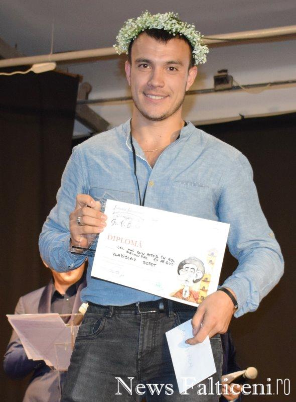 News Falticeni -Cel mai bun actor rol principal Vladislav Ropot
