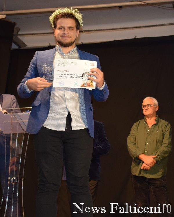 News Falticeni -Cel mai bun actor rol secundar Alexandru Calin Tazlaoanu