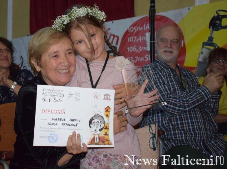 News Falticeni -Monolog 12 ani Marele Premiu Ilinca Tapalaga cu Ileana Popovici