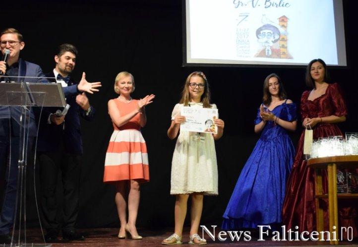 News Falticeni -Poezie 12 ani Premiul I Marta Constandache