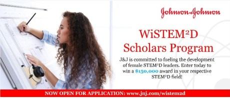 Johnson-Johnson-Women-in-STEM²D-Scholars-Program