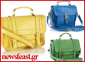 soho-satchel-yellow-green-catwalk-boxy-accessorize greece-competition-newsfeast