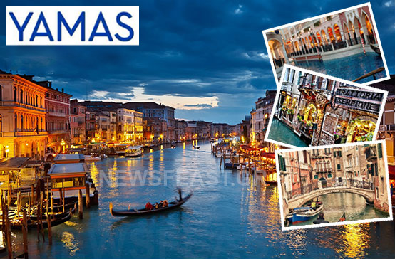 win contest competition to travel venice yamas drinks