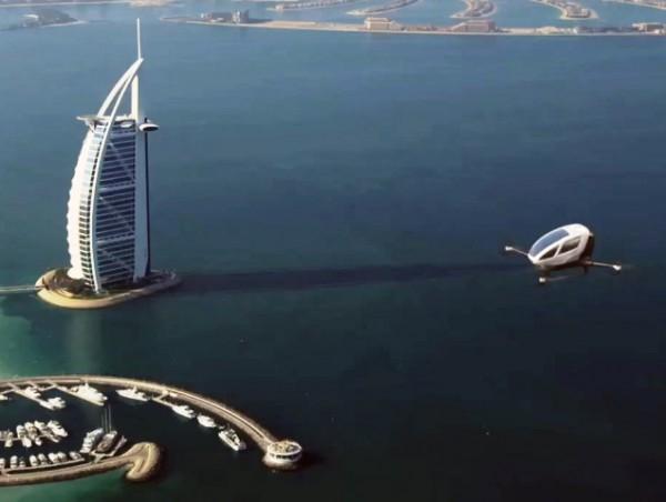 Ντουμπάι: Το μέλλον έφτασε! Ιπτάμενο ταξί μέσα στην πόλη! [Bίντεο]