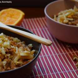 Συνταγή της Ημέρας: Κρέμα βρώμης που θυμίζει μηλόπιτα
