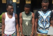Photo of Notorious Armed Robbers arrested in Accra