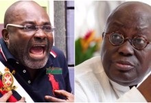 Photo of Video: Kennedy Agyapong again; Insults Akuffo-Addo on Live TV