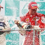 F1: Μαλαισία: Στην κορυφή ο Raikkonen