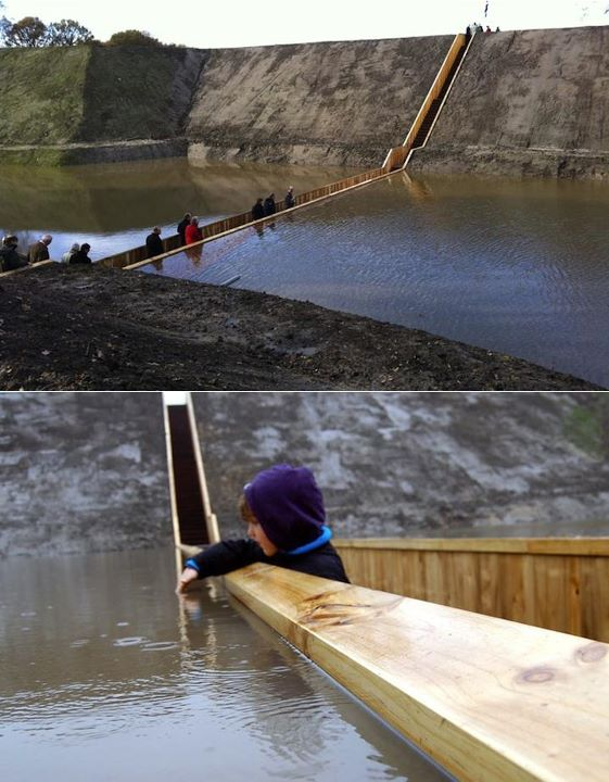 moses bridge at holland