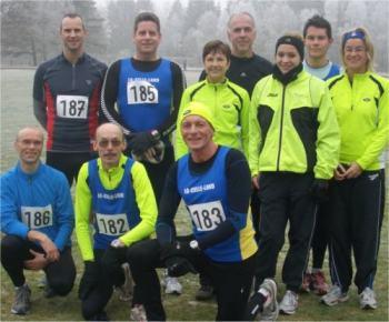 Bild zu 8 Meistertitel und 5 Vizetitel bei den Bezirkscrosslaufmeisterschaften in Uelzen (1.2.2011 )