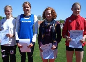 Bild zu Stefanie Liedke holt Bronzemedaille bei den Landesmeisterschaften in Göttingen (4.5.2011 )