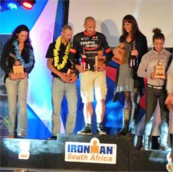 Bild zu Port Elizabeth/Südafrika  Bob Orton/TUS Bergen finisht in Südafrika beim Ironman und qualifiziert sich für Hawai! (16.5.2012 )