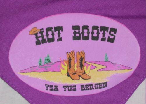 """Bild zu Das LOGO der  """"HOT BOOTS"""" (13.7.2012 )"""