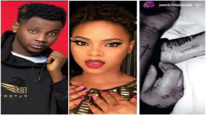kiss daniel's relationship with chidinma