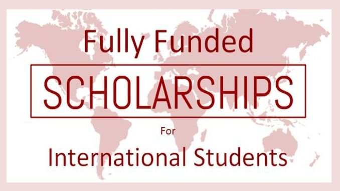 completely funded scholarships