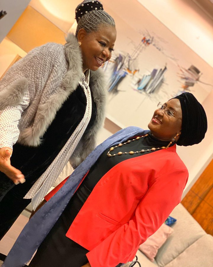aisha buhari on why she returned to nigeria