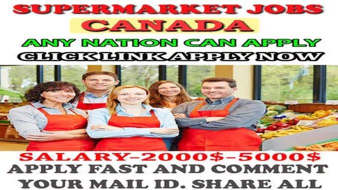 canada supermarket job offers