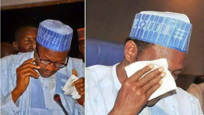 BUHARI-CRYING