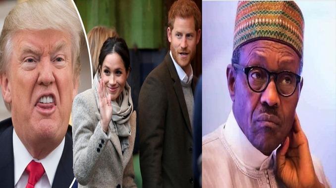 harry trump and lifeless buhari