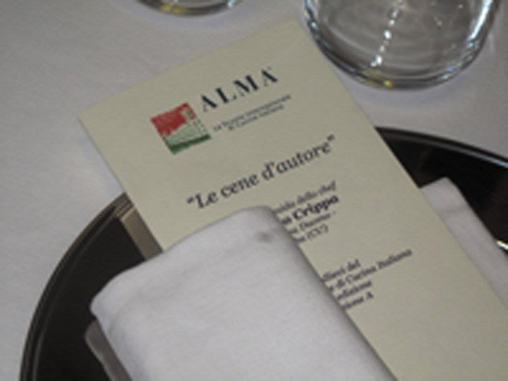 Scuola di Cucina Italiana ALMA Cena dautore con lo chef Enrico Crippa