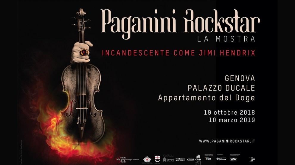 Genova – Paganini Rockstar La Mostra . Incandescente come Jimi Hendix
