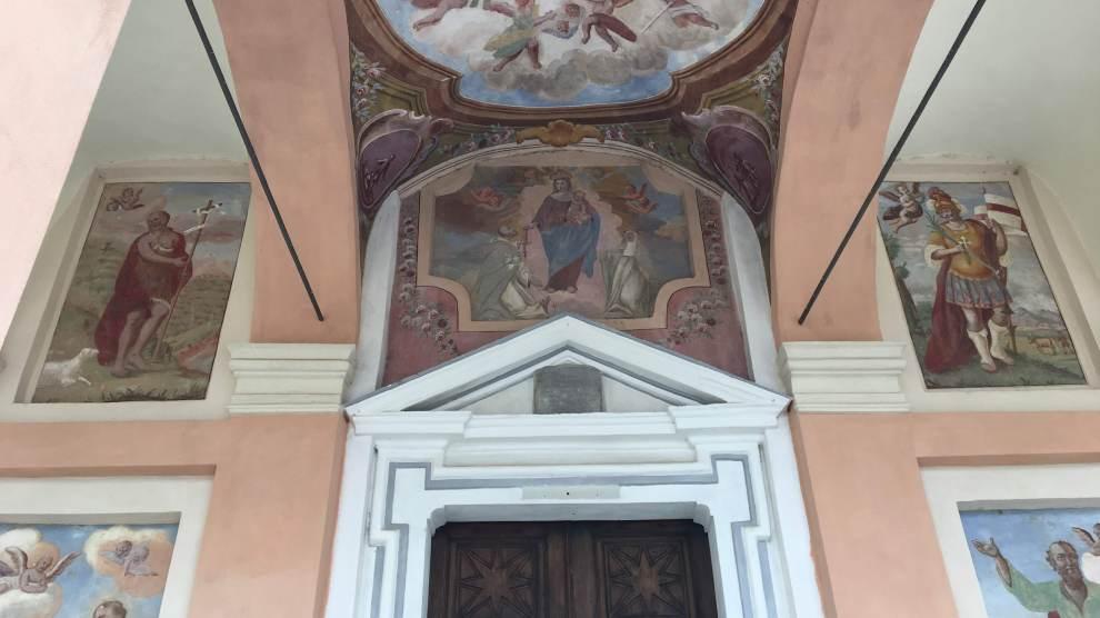 Riqualificazione del contesto paesaggistico/ambientale del Santuario di San Mauro Comune di Rittana (CN)