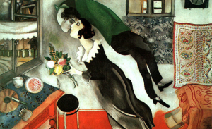 """NFM's friends / MARC CHAGALL """" IL COMPLEANNO"""""""