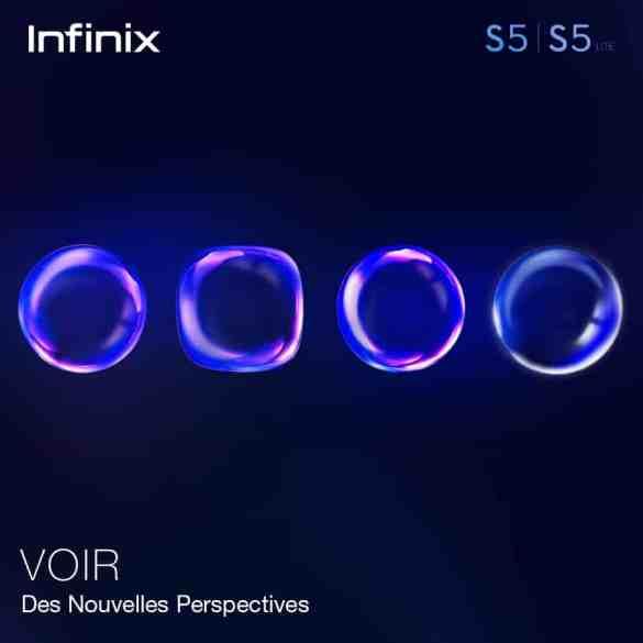 teaser Infinix s5 infinity-O