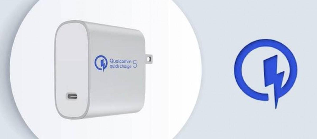 Quick Charge 5 : la nouvelle norme de Qualcomm promet 50 % en moins de cinq minutes de charge