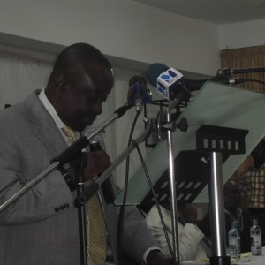 Dr Albert Kan-Dapaah, Consulting Director of the Centre for Public Accountability, University of Professional Studies, Accra