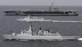 Malaysian navy combat vessel